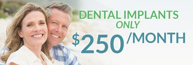 Dental implants special coupon