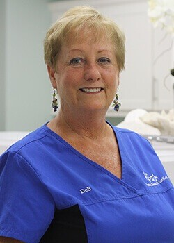 Dental office manager Deb
