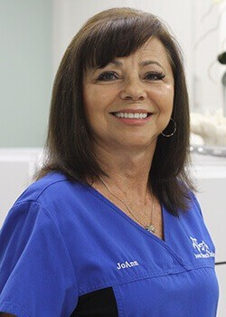 Dental treatment coordinator Jo Ann