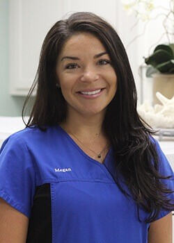 Registered dental hygienist Megan